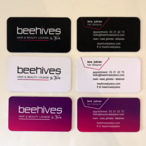 beehives business card designs